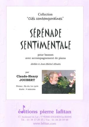 Claude-Henry Joubert - Sérénade Sentimentale - Partition - di-arezzo.fr