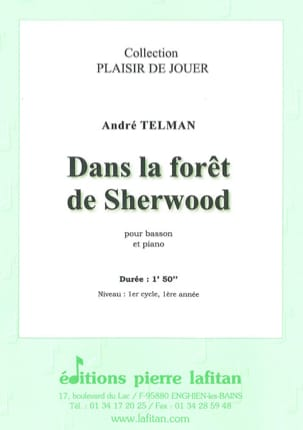 André Telman - In Sherwood Forest - Sheet Music - di-arezzo.com