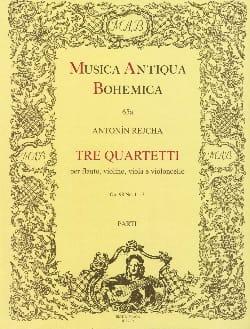 3 Quartette no. 1-3 g-Moll, C-Dur, G-Dur op. 98 REICHA laflutedepan