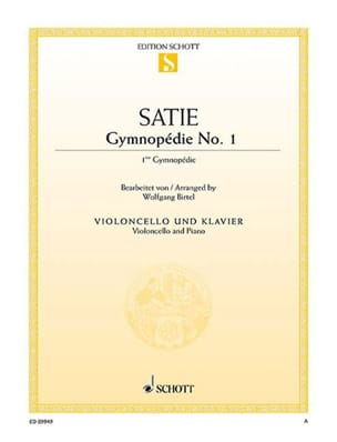 Erik Satie - First Gymnopedia - Sheet Music - di-arezzo.com