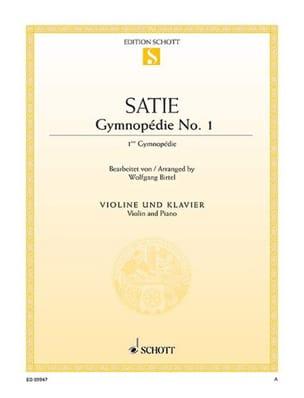 Erik Satie - Première Gymnopédie - Partition - di-arezzo.fr