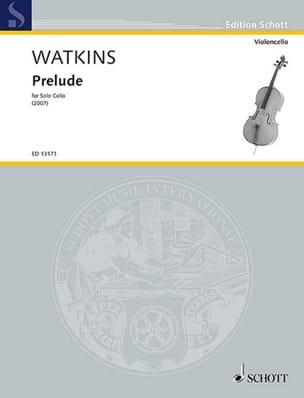 Huw Watkins - Prelude - Partition - di-arezzo.fr