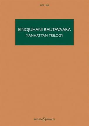 Manhattan Trilogy Einojuhani Rautavaara Partition laflutedepan