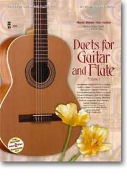 Duets For Guitar & Flute, Volume 1 - Partition - laflutedepan.com