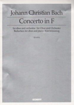 Concerto F Major - Johann Christian Bach - laflutedepan.com
