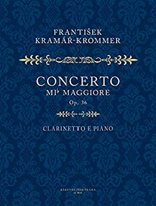Franz Krommer - Konzert Es-Dur Op 36 - Sheet Music - di-arezzo.co.uk