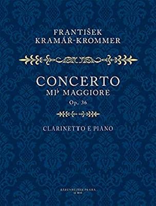 Franz Krommer - Konzert Es-Dur Op 36 - Partition - di-arezzo.fr