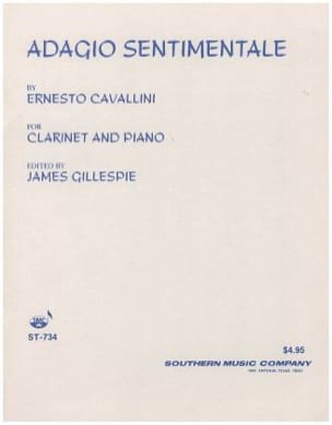 Ernesto Cavallini - Adagio sentimentale - Partition - di-arezzo.fr