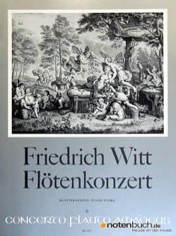 Friedrich Witt - Konzert für Flöte und Orchester - flûte et piano - Partition - di-arezzo.fr