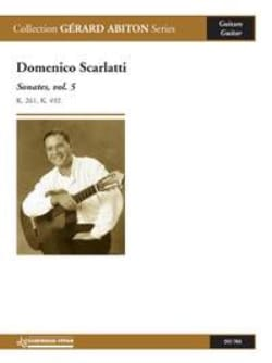 Domenico Scarlatti - Sonates, volume 5 - Partition - di-arezzo.fr