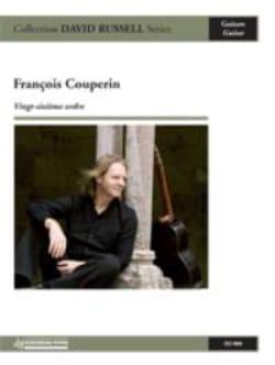 Vingt-sixième ordre François Couperin Partition Guitare - laflutedepan