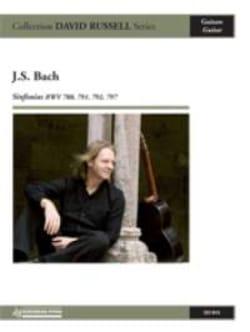 Sinfonias BWV 788, 791, 792, 797 - BACH - Partition - laflutedepan.com