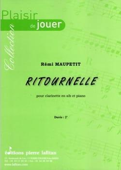 Rémi Maupetit - Ritournelle - Clarinette - Partition - di-arezzo.fr