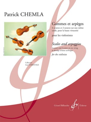 Patrick Chemla - Ranges and Arpeggios - Sheet Music - di-arezzo.com