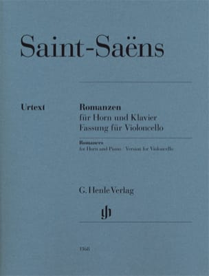 Camille Saint-Saens - Romances for horn and piano - Version for cello, op. 36 and 67 - Sheet Music - di-arezzo.com