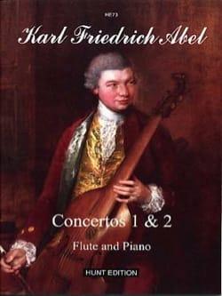 Concertos 1 et 2, opus 6 Carl Friedrich Abel Partition laflutedepan