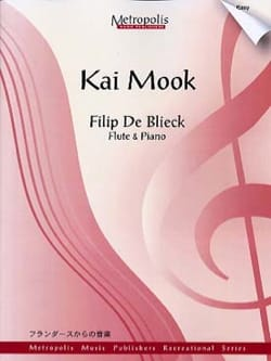 Blieck Filip De - Kai Mook - Partition - di-arezzo.fr
