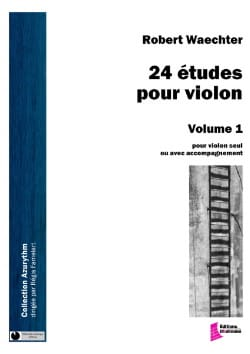 Robert Waechter - 24 studies for violin, volume 1 - Sheet Music - di-arezzo.com