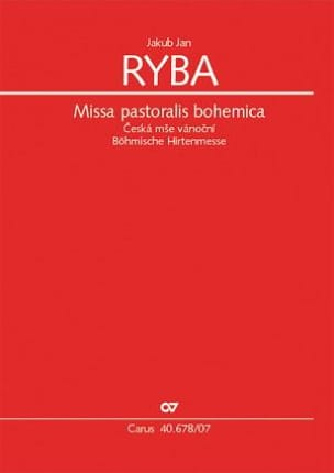 Jakob Jan Ryba - Missa pastoralis bohemica - Sheet Music - di-arezzo.co.uk