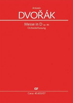 DVORAK - Mass in D major - Sheet Music - di-arezzo.com