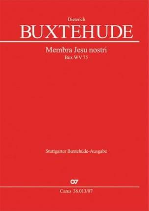 Dietrich Buxtehude - Membra Jesu nostri, BuxWV 75 - Partition - di-arezzo.fr