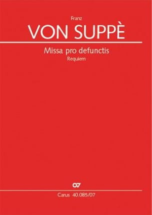 Franz von Suppé - Missa pro defunctis Requiem - Sheet Music - di-arezzo.com