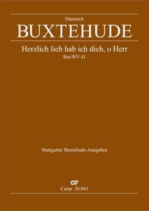 Dietrich Buxtehude - Herzlich lieb habich dich, o Herr BUXWV 41 - Sheet Music - di-arezzo.co.uk