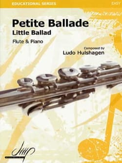 Little Ballad Ludo Hulshagen Partition laflutedepan