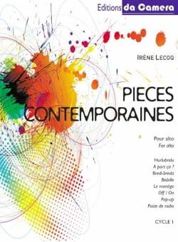 Pièces Contemporaines Irène Lecoq Partition Alto - laflutedepan