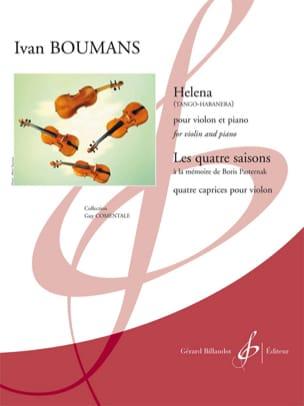 Helena (Tango-Habanera) - Ivan Boumans - Partition - laflutedepan.com