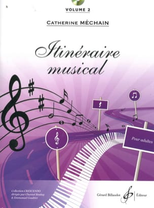 Catherine Méchain - Musical route - Volume 2 - Sheet Music - di-arezzo.com