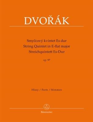 Antonin Dvorak - Quintette à cordes en mi bémol majeur, op. 97 - Partition - di-arezzo.fr