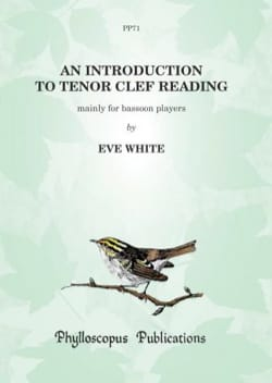 Eve White - An Introduction to Tenor Clef Reading - Sheet Music - di-arezzo.com