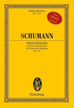 SCHUMANN - Neujahrslied, op. 144 - Partition - di-arezzo.fr
