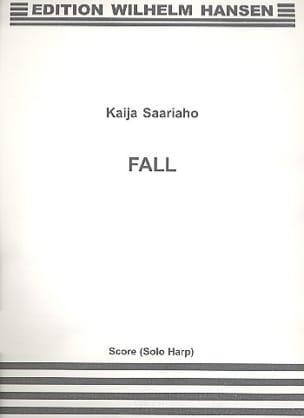 Fall Kaija Saariaho Partition Harpe - laflutedepan