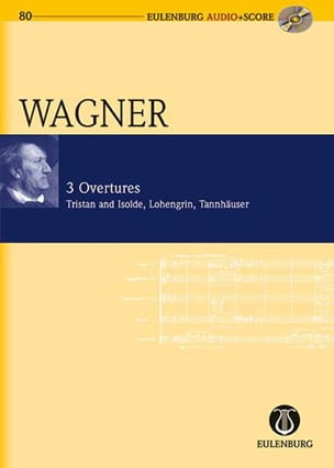 Richard Wagner - 3 Ouvertures - Partition - di-arezzo.fr