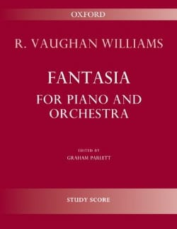 Williams Ralph Vaughan - Fantasy For Piano And Orchestra - Sheet Music - di-arezzo.co.uk