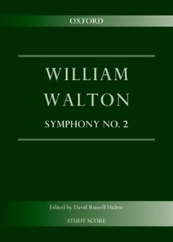 Symphonie n° 2 - William Walton - Partition - laflutedepan.com