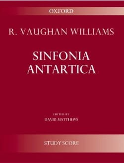 Williams Ralph Vaughan - Sinfonia Antartica Symphonie n° 7 - Partition - di-arezzo.fr