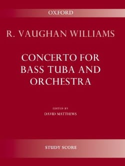 Williams Ralph Vaughan - Concerto for bass tuba and orchestra - Sheet Music - di-arezzo.co.uk