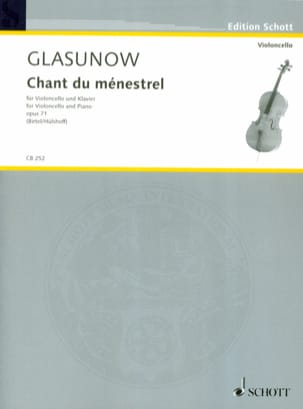 Alexandre Glazounov - Song of the minstrel, op. 71 - Sheet Music - di-arezzo.com