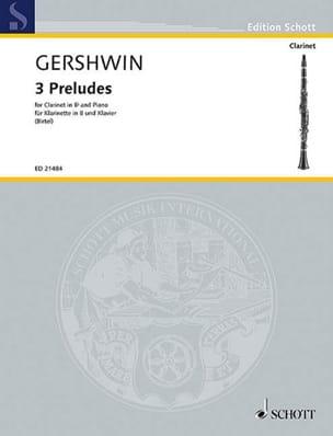 3 Préludes - George Gershwin - Partition - laflutedepan.com