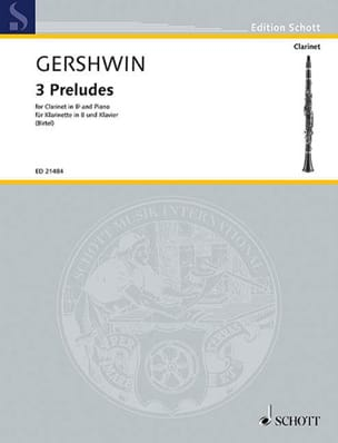 George Gershwin - 3 Préludes - Partition - di-arezzo.fr