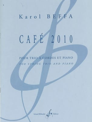 Karol Beffa - Café 2010 - Partition - di-arezzo.fr