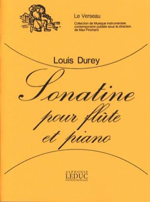 Sonatine – Flûte piano - Louis Durey - Partition - laflutedepan.com