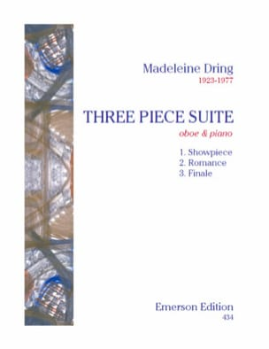 Madeleine Dring - Three Piece Suite - Partition - di-arezzo.fr