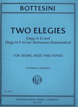 Giovanni Bottesini - 2 elegies - Sheet Music - di-arezzo.co.uk