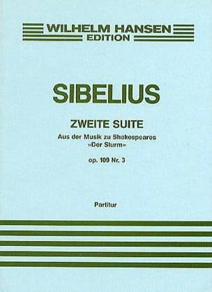 "Jean Sibelius - Suite 2 of ""The Storm"", op. 109 No. 3 - Sheet Music - di-arezzo.co.uk"
