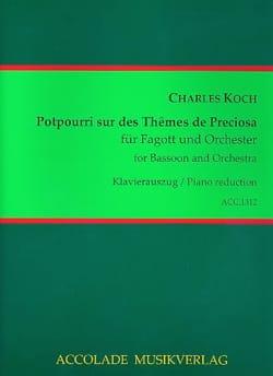 Charles Koch - Potpourri op. 18 über Themen aus Preziosa von Weber - Sheet Music - di-arezzo.com