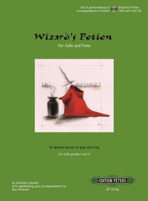 Wizard's Potion - Cello Caroline Lumsden Partition laflutedepan